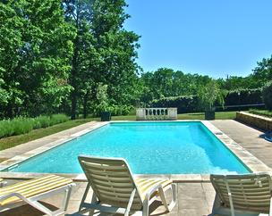 La Millasserie: B&B in France: The Pool